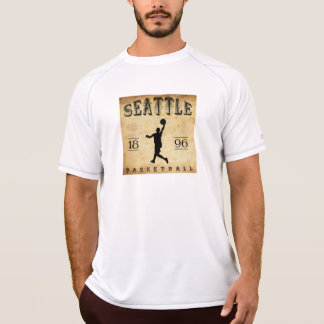1896 Seattle Washington Basketball T-Shirt