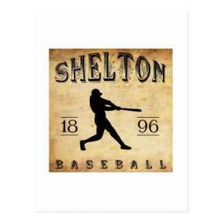 1896 Shelton Connecticut Baseball Postcard