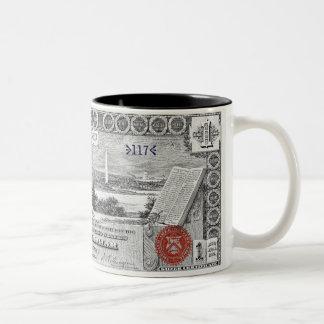 1896 Silver Certificate Educational Series 1 Mug