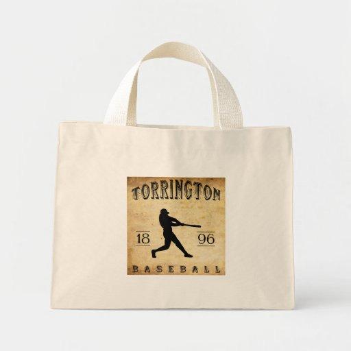1896 Torrington Connecticut Baseball Canvas Bags