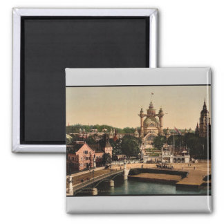 1897, Art Institute, Stockholm, Sweden classic Pho 2 Inch Square Magnet