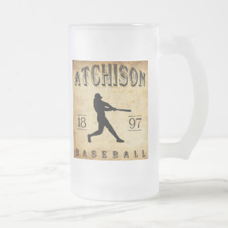 1897 Atchison Kansas Baseball Coffee Mugs