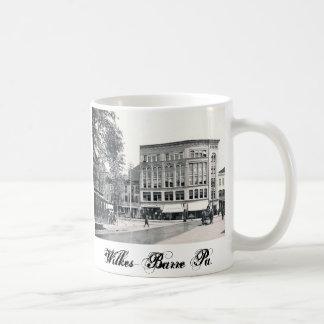 1897 Bennett Block  Wilkes-Barre Pa. Mug