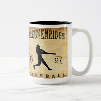 1897 Breckenridge Colorado Baseball Coffee Mug