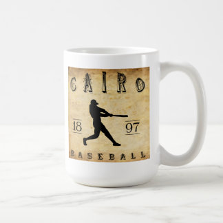 1897 Cairo Illinois Baseball Coffee Mug