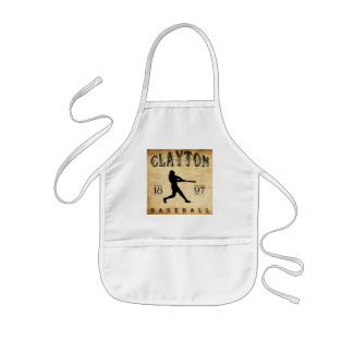1897 Clayton New Jersey Baseball Kids' Apron