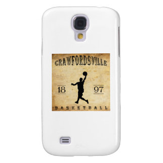1897 Crawfordsville Indiana Basketball Galaxy S4 Covers