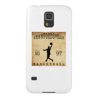 1897 Crawfordsville Indiana Basketball Cases For Galaxy S5
