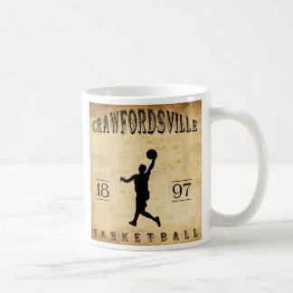 1897 Crawfordsville Indiana Basketball Coffee Mugs