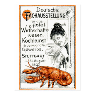 1897 Culinary Poster Post Cards