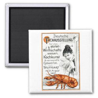 1897 Culinary Poster Refrigerator Magnet