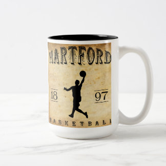 1897 Hartford Connecticut Basketball Mug
