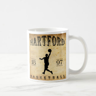 1897 Hartford Connecticut Basketball Mugs
