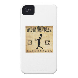 1897 Indianapolis Indiana Basketball iPhone 4 Case-Mate Cases