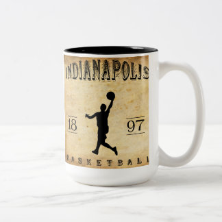 1897 Indianapolis Indiana Basketball Mugs