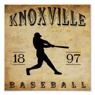 1897 Knoxville Tennesee Baseball Posters