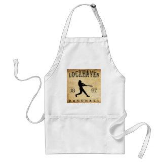 1897 Lockhaven Pennsylvania Baseball Apron