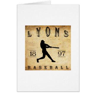 1897 Lyons New York Baseball Card