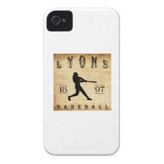 1897 Lyons New York Baseball iPhone 4 Cases