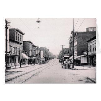 1897 Main St. Pittson Pa. Card