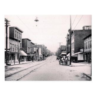 1897 Main St. Pittson Pa. Postcard