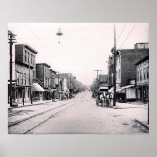 1897 Main St. Pittson Pa. Poster