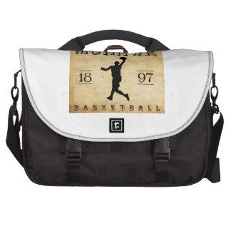 1897 Mohawk New York Basketball Computer Bag