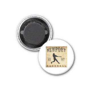 1897 Newport Rhode Island Baseball Magnet