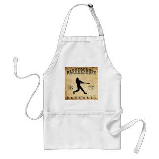 1897 Parkersburg West Virginia Baseball Aprons
