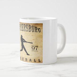 1897 Parkersburg West Virginia Baseball Large Coffee Mug