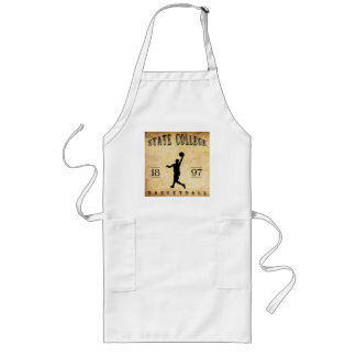1897 State College Pennsylvania Basketball Long Apron
