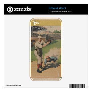 1897 Strobridge Baseball iPhone 4S Skins