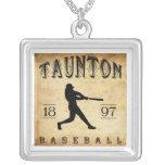 1897 Taunton Massachusetts Baseball Pendants