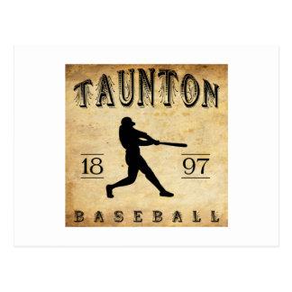 1897 Taunton Massachusetts Baseball Postcard
