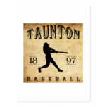 1897 Taunton Massachusetts Baseball Postcards