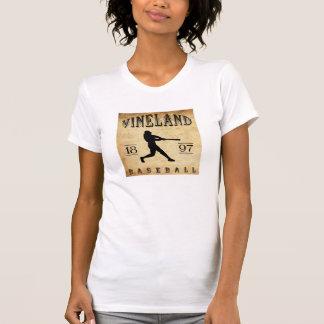 1897 Vineland New Jersey Baseball Tee Shirt