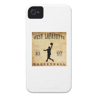 1897 West Lafayette Indiana Basketball iPhone 4 Case