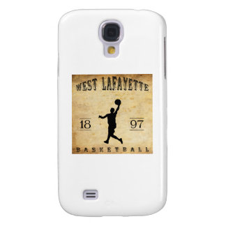 1897 West Lafayette Indiana Basketball Galaxy S4 Cover