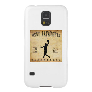 1897 West Lafayette Indiana Basketball Galaxy S5 Covers