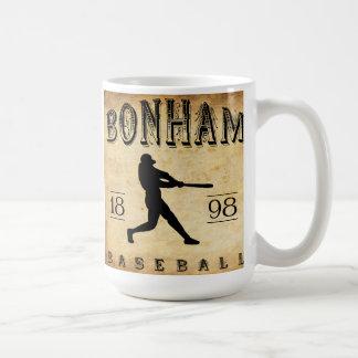1898 Bonham Texas Baseball Coffee Mug