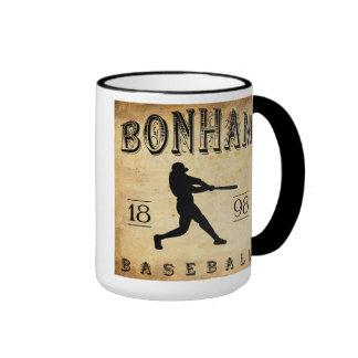 1898 Bonham Texas Baseball Ringer Mug