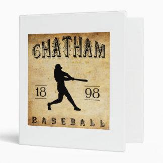 1898 Chatham Ontario Canada Baseball Binder