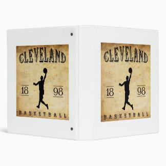 1898 Cleveland Ohio Basketball 3 Ring Binder