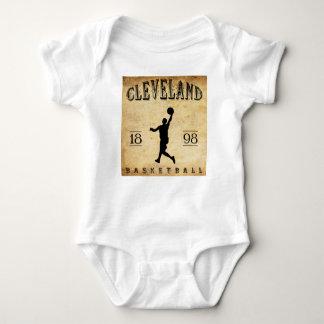 1898 Cleveland Ohio Basketball Baby Bodysuit