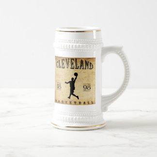 1898 Cleveland Ohio Basketball Beer Stein