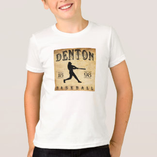 1898 Denton Texas Baseball T-Shirt