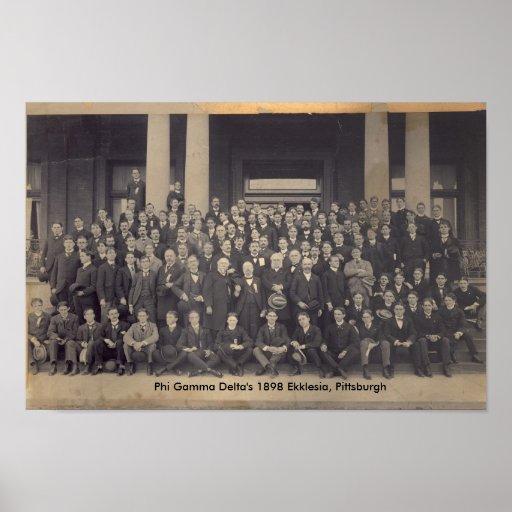 1898 Ekklesia, Pittsburgh Impresiones