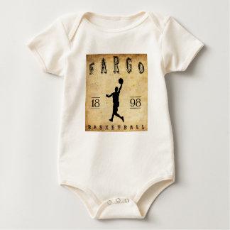1898 Fargo North Dakota Basketball Baby Bodysuit