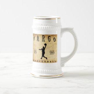 1898 Fargo North Dakota Basketball Beer Stein