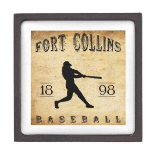 1898 Fort Collins Colorado Baseball Premium Trinket Boxes